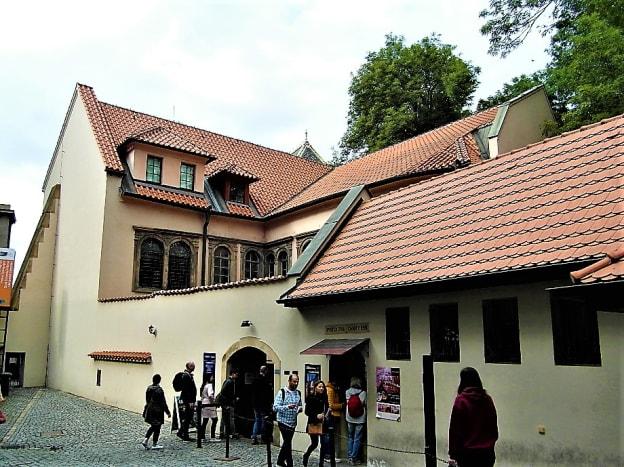Pinkas Synagogue, Prague.