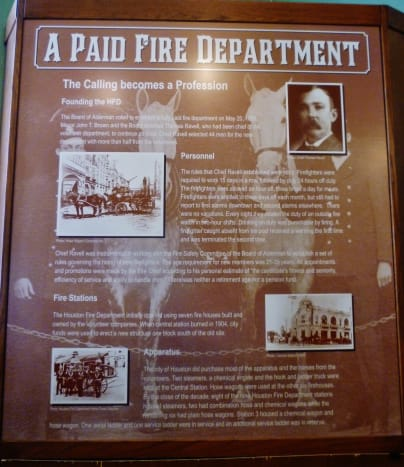 Information about the first paid fire department employees