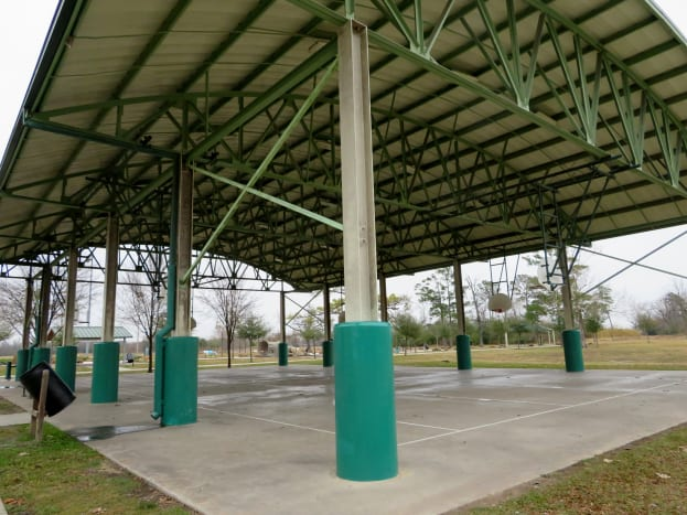 Covered Basketball Court