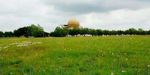 Our first view of the Chong Hua Sheng Mu Holy Palace