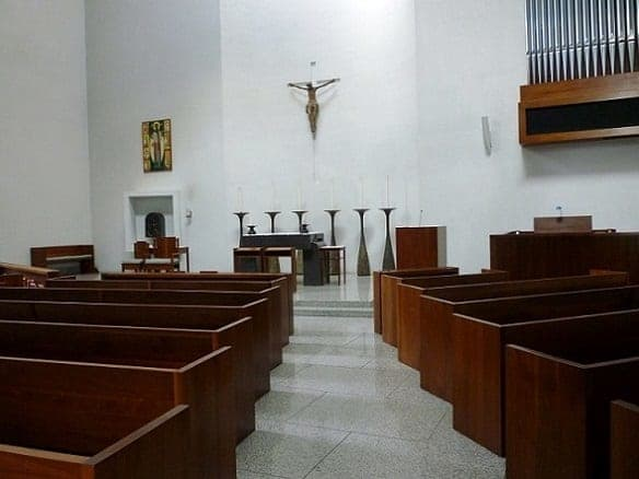 Interior view of St. Basil's Chapel