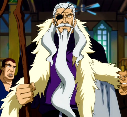 Hades as Purehito, Fairy Tail's second guild master