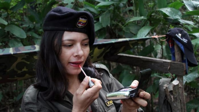 Tanja Nijmeijer, a Dutch woman who joined the FARC. The picture was found on a computer that the government claims belonged to Jorge Briceno (alias Mono Jojoy), a leftist guerrilla chief of the FARC who was killed in a raid by Colombian forces.