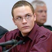Cody Posey during the trial.