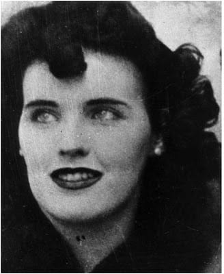 Beautiful Elizabeth Short became known as The Black Dahlia after her slaying.
