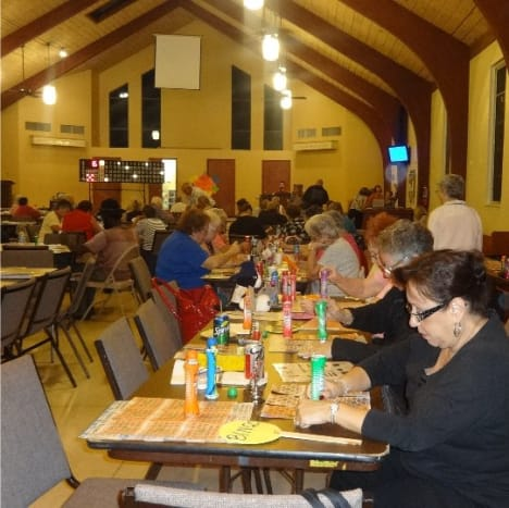 Many places of worship rely upon bingo as a fundraising option.