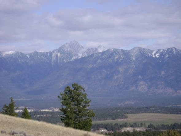 Looking over toward Mount Fisher.  Photos are my own.