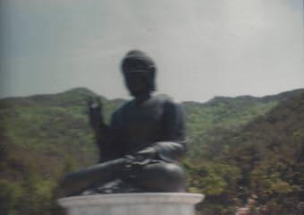 Korea's largest sitting Buddha.