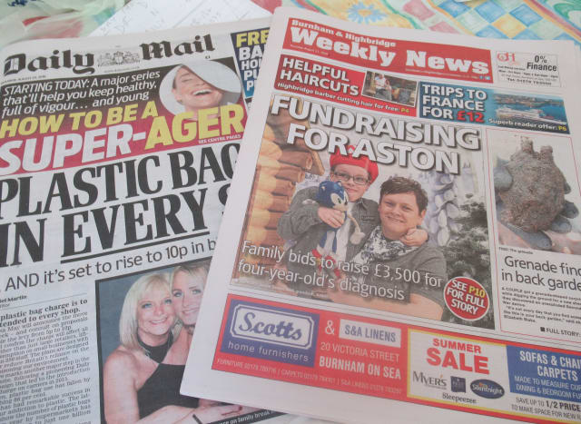 National & Local Newspapers