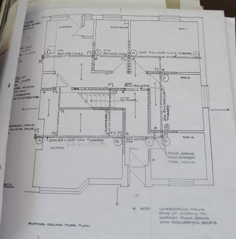 Architect's Plans for a Loft Conversion