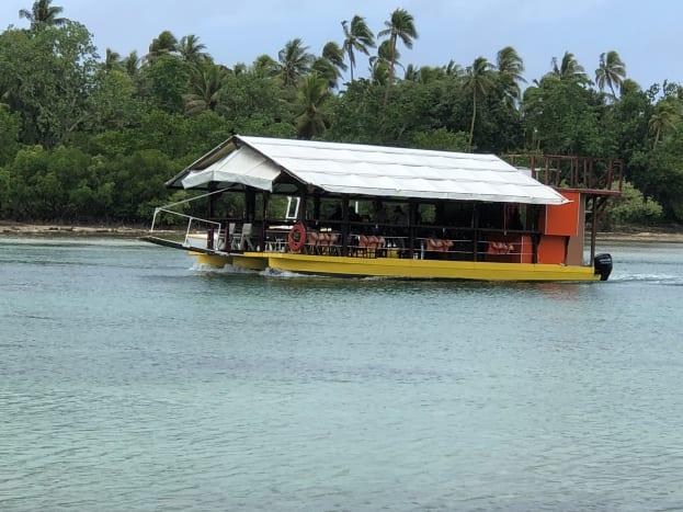 The Lagoon Barge