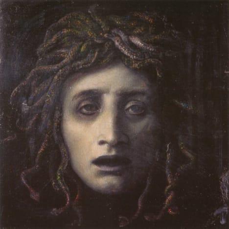 Medusa by Arnold Böcklin (1827–1901)
