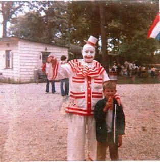 John Wayne Gacy Dressed As Pogo The Clown