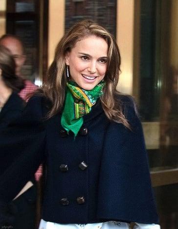 Natalie Portman, winner of the $1,000,000 Genesis Prize in Israel.