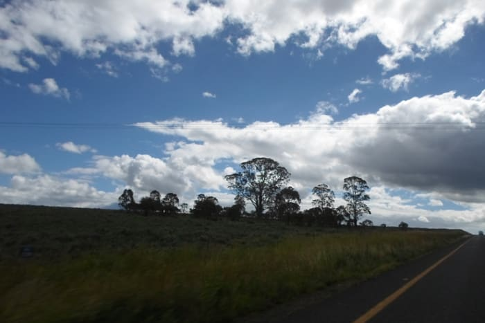 Between Kroonstad and Bethlehem, Free State, South Africa