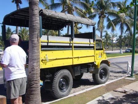 Transportation to the Zipline