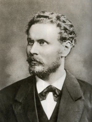 Otto Lilienthal in 1888 at the age of 40