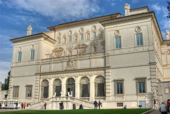 Exterior of Villa Borghese