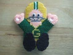 Frugal Gift Idea - Hand Made Football Fan gift idea - needlepoint Green Bay Packer