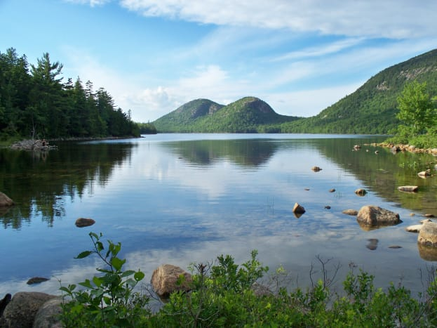 Jordan Pond @ Acadia National Park
