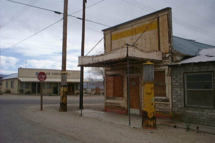 Darwin in Inyo County was photographed by LHOON on March 23, 2003.