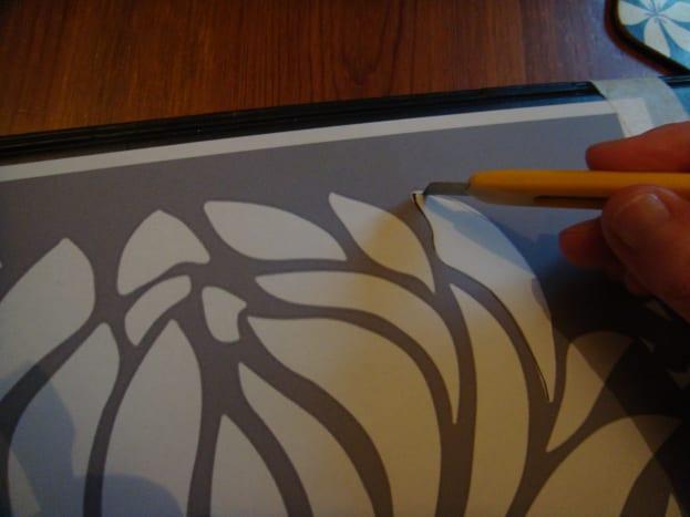 Cut Out A Printed Stencil
