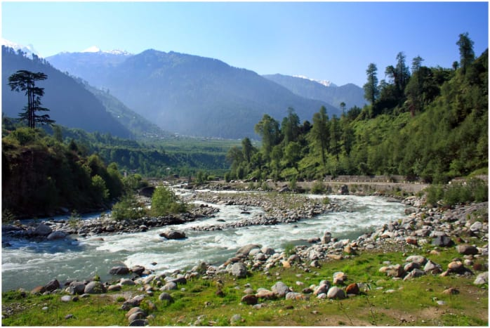 The Beas River in Himachal Pradesh