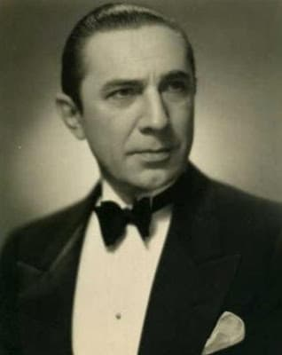 Bela Lugosi, famous on stage and screen.