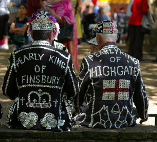 At the Highgate Festival.