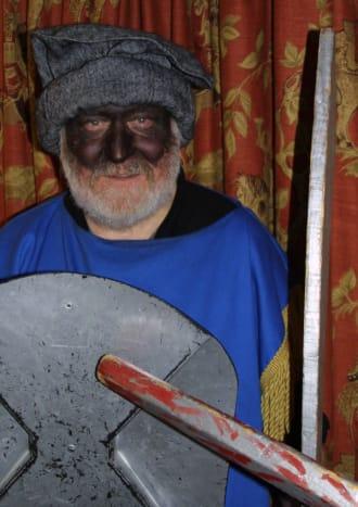 The play's villain; the Turkish Knight