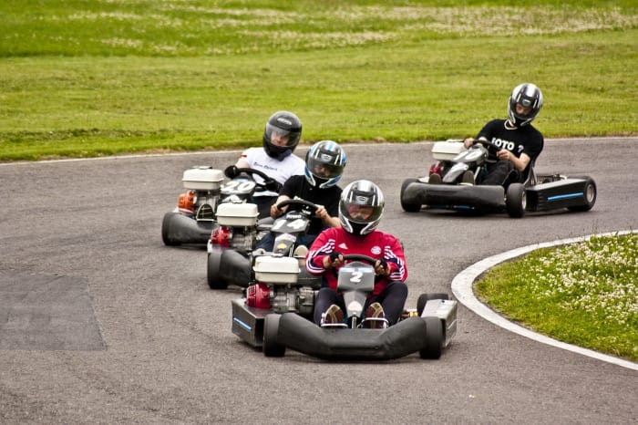 Racing for all ages.