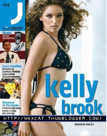 Kelly Brook Bikini Photos From J Magazine