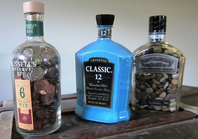 Cool Craft Ideas For Adults - Whiskey Bottles - Craft Ideas for Bottles