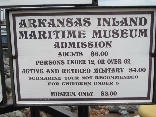 Cheap price for hours of fun, and a tour touching naval history. Under $7.00 for a memorable time.