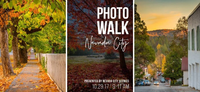Nevada City Photo Walk Top Cities in America for Fall Traveling