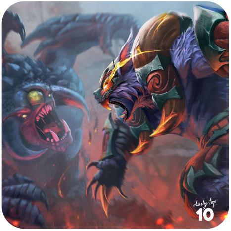Ursa Warrior vs Roshan