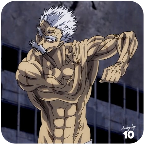 Bang(Silver Fang) of One Punch Man