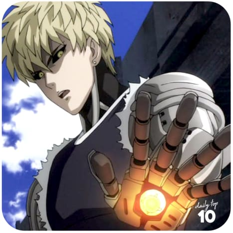 Genos of One Punch Man