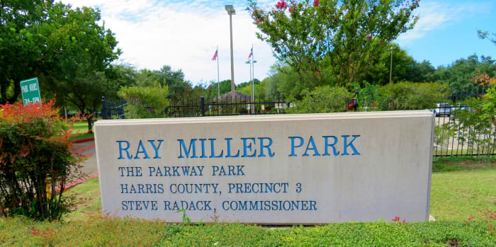 Ray Miller Park Sign