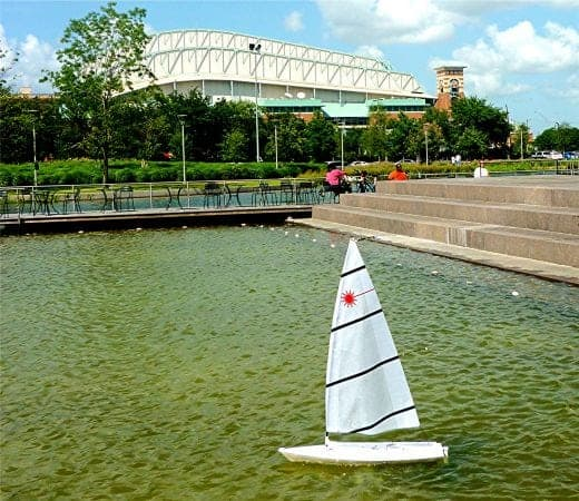 Kinder Lake in Discovery Green Park