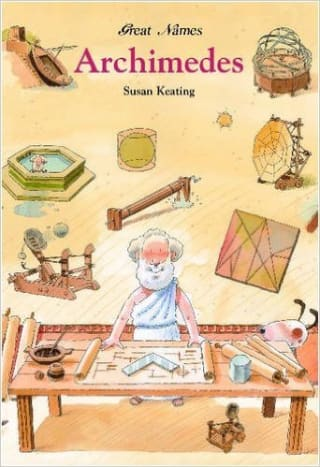 Our favorite picture book: Archimedes by Susan Keating - Image credit: amazon.com