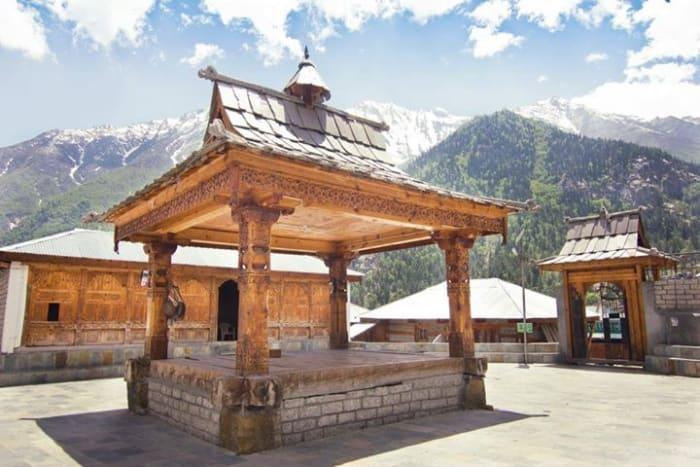 Chitkul Devi temple at Chitkul village