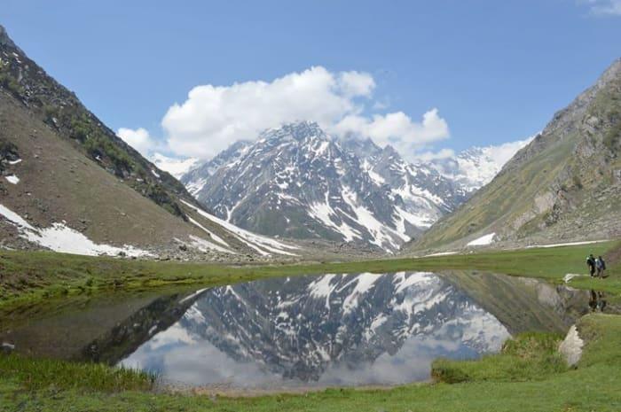 Kara Lake at Bhaba Valley in Kinnaur
