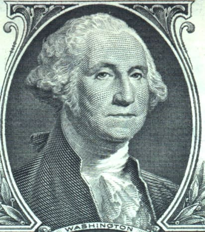 George Washington, the New Nation's first President.