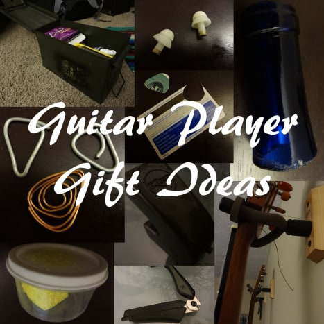 Here are some great unique and DIY gifts for guitar players.