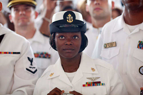 Men and women serve together in Jacksonville.
