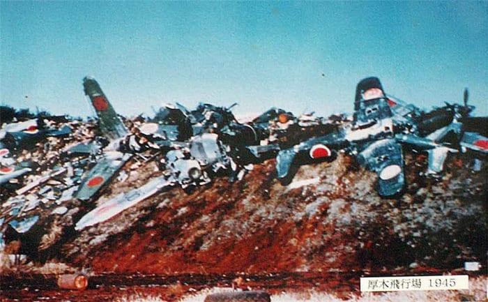 Japanese Aircraft Boneyard