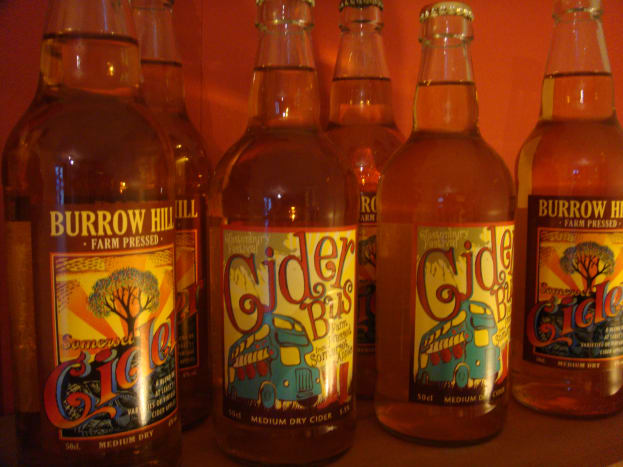 Buy the cider in bottles