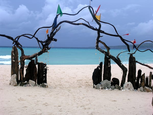 Enter the enchanting world of Puka Beach, Boracay.