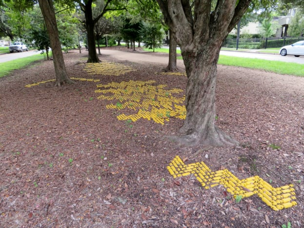 """""""Safety Yellow"""" by Susannah Mira on the """"Obstacle Art Path"""""""